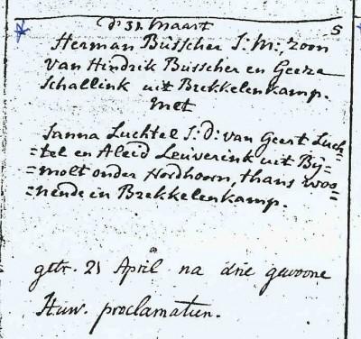 Hermanus Busscher en Janna Luchtel 21-04-1793