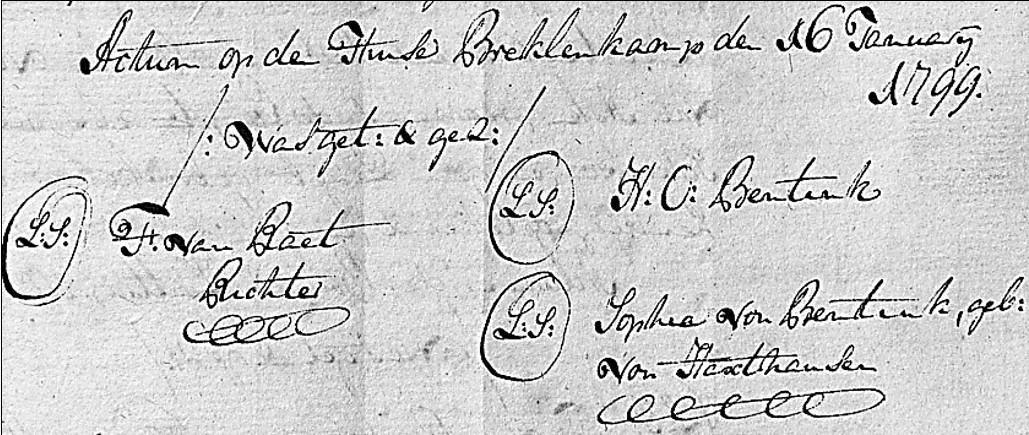 1799-02-16 Jan Hendrik Stokke nu Tijscholte koopt plaatse Tijscholte