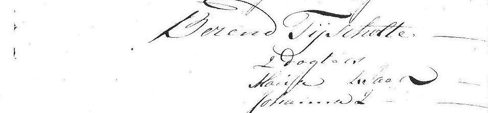 1812 Naamsaanneming Berend Tijscholte Lattrop