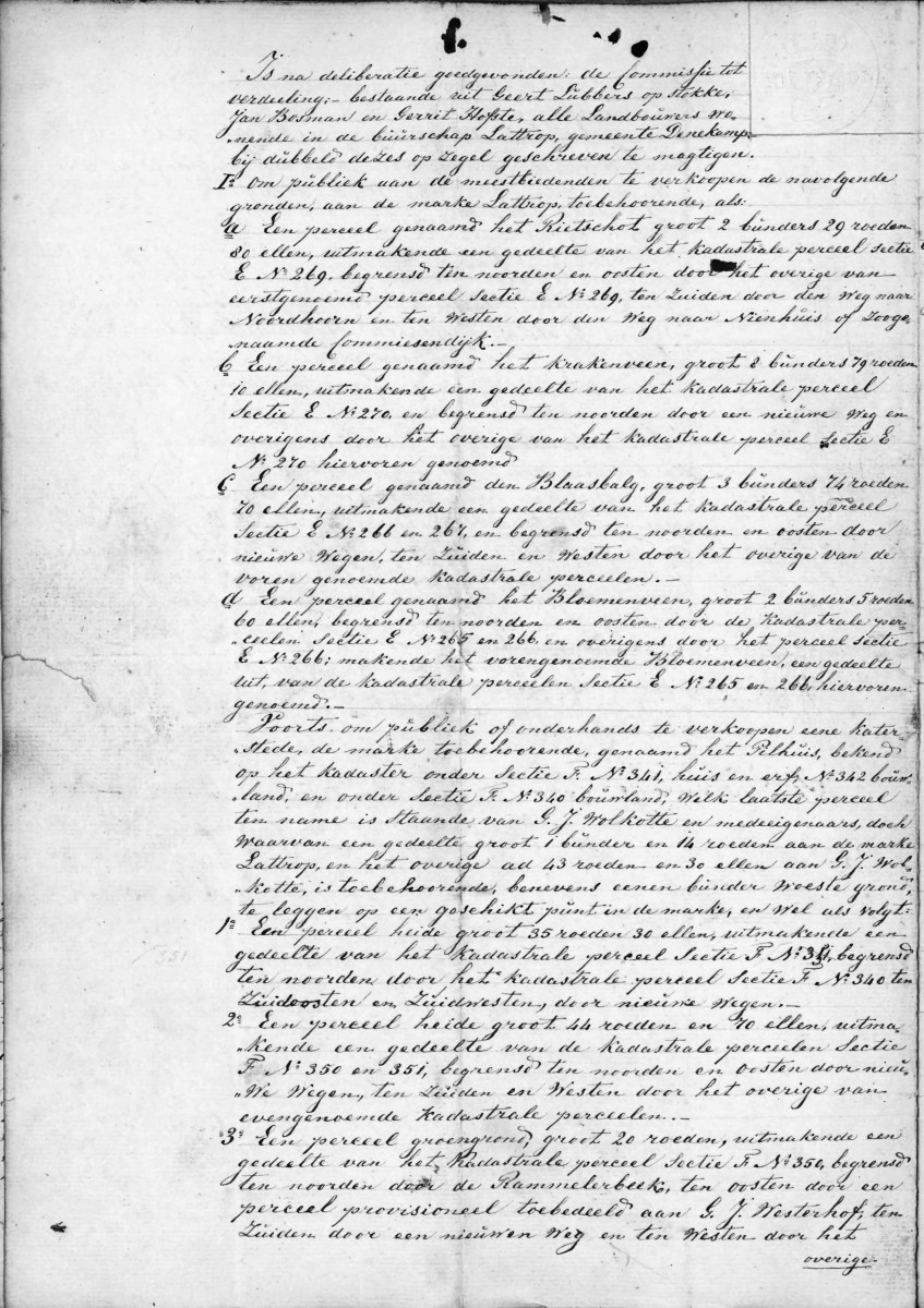 1843-09-09 Marken vergadering op het erve Bonke in Lattrop (2)