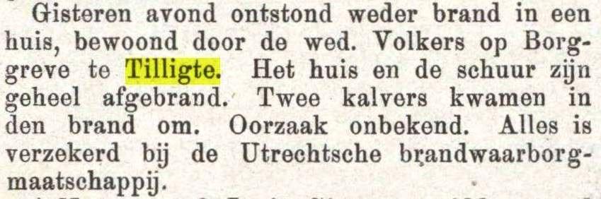 1882-06-05 Brand bij Volkers op Borggreve Prov Ov en Zw Courant