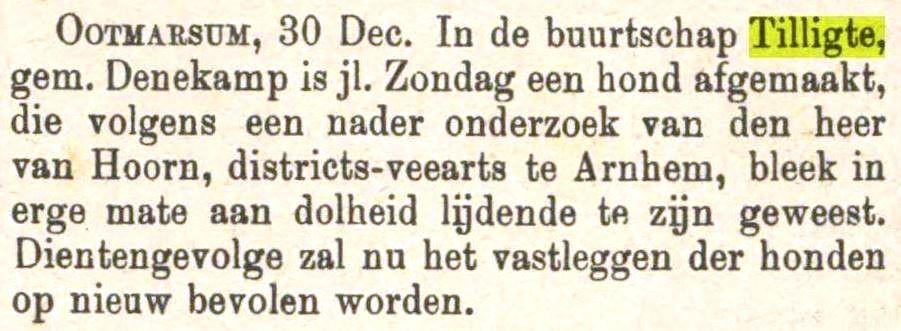 1886-01-02 Hondsdolheid in Tilligte Tubantia
