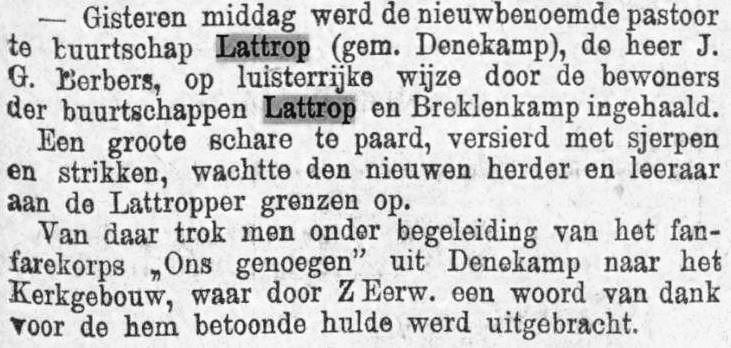 1899-05-29 Pastoor Berbers ingehaald Prov Over en Zwolsche Courant