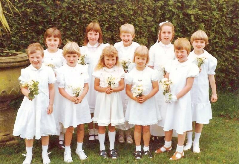 Lattrop bruidjes in 1981…