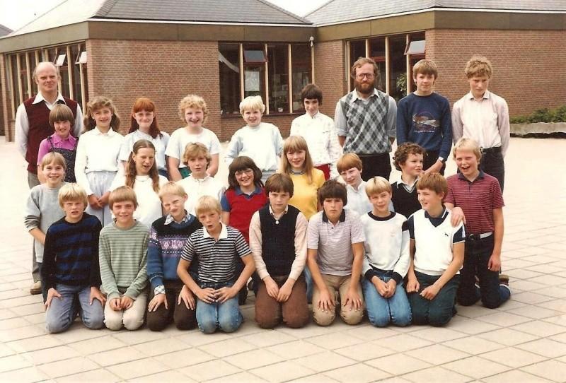 Klassenfoto Lattrop 1982