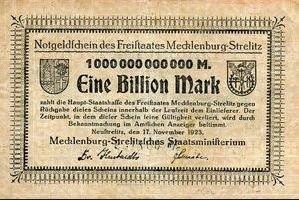 1 Biljoen mark