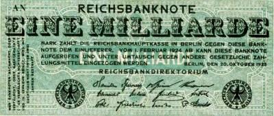 1 Miljard Mark