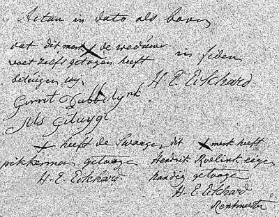 Actúm Ootmarssum den 11. Febr 1803