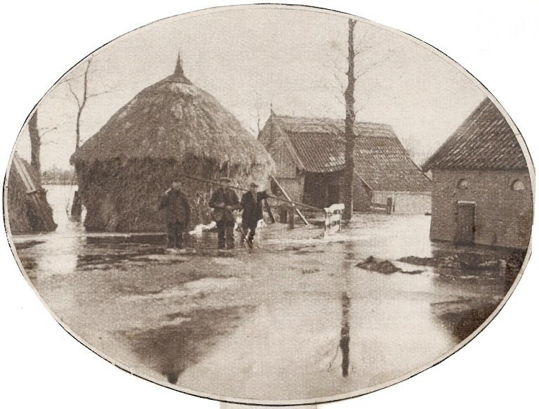 Beijerink Tilligte overstroming januari 1928