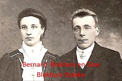 Bernard Blokhuis en Sina Blokhuis-Stokke Lattrop-Geesteren(O)