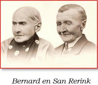 Bernard Rerink en San Vennegoor op Weljanshuis in Oud Ootmarsum