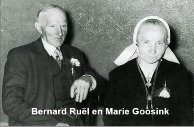 Bernard Ruël en Marie Goosink op Keujer in Lattrop