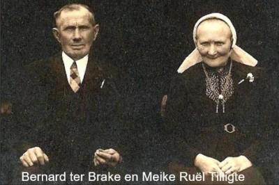 Bernard ter Brake en Meike Ruël op Veldlukens in Tilligte