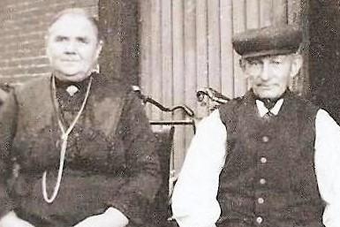 Bernardus Roelofs en Maria Lansink op ool Langkaamp Tilligte