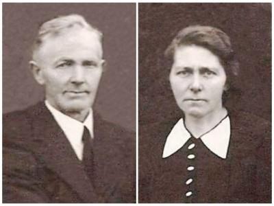 Bernard Snoeijink en Hanna Arends op Damhuis in Lattrop