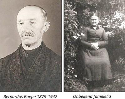 Bernardus Roepe 1879-1942 en onbekend familielid Mössem Lattrop