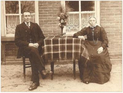 Bernardus Fox (1866-1928) en Gezina Tijscholte (1863-1941)