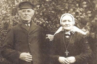 Bernardus Klaas (1852-1933) en Maria Veldscholten (1863-1946)