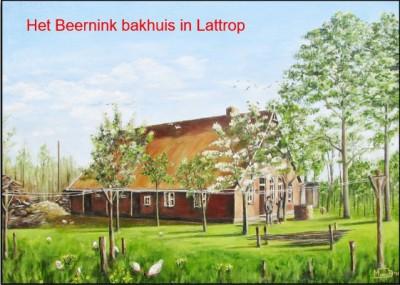 Boerderij Busscher op Beernink bakhuis in Lattrop