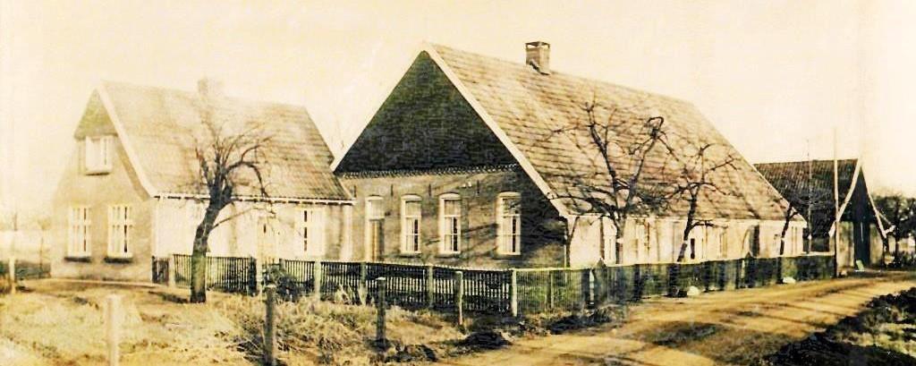 Boerderij en woonhuis Groeneveld  (Nije Meijer) Lattrop 1953