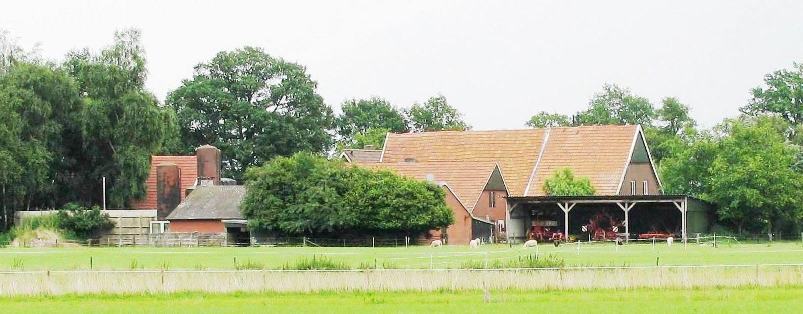 Boerderij Haamberg op Zegelvoort Esweg in Lattrop
