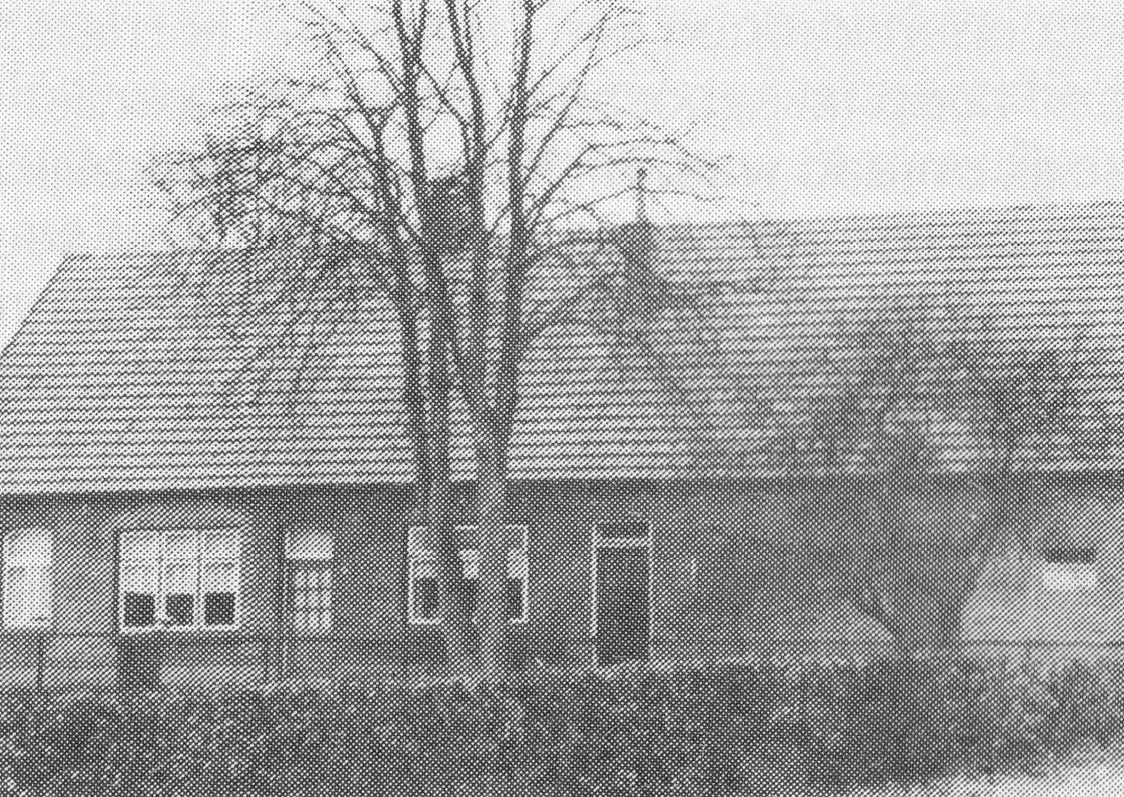 Boerderij Kokkeler nabij de grens na verbouw 1957