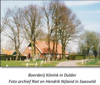 Boerderij Könink in Dulder