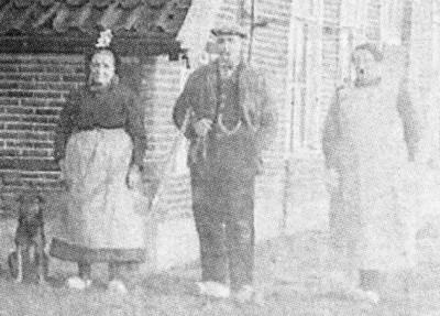 Boerderij Oude Kienhuis Tilligte foto ca. 1920