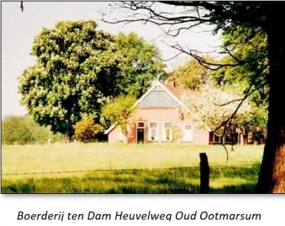 Boerderij ten Dam Heuvelweg Oud Ootmarsum