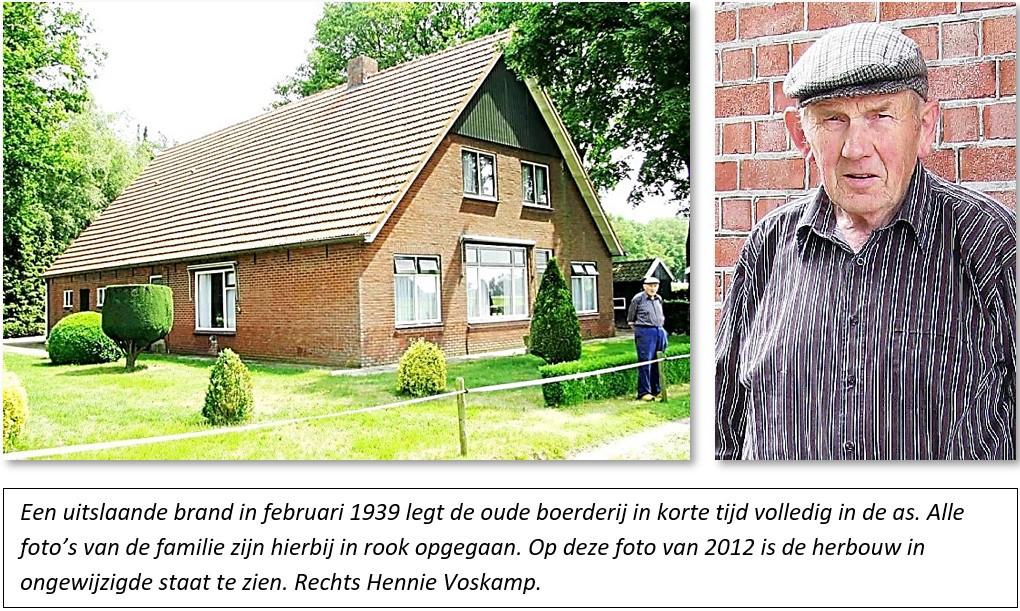 Boerderij Voskamp op Steggersboer in Tilligte en Hennie Voskamp