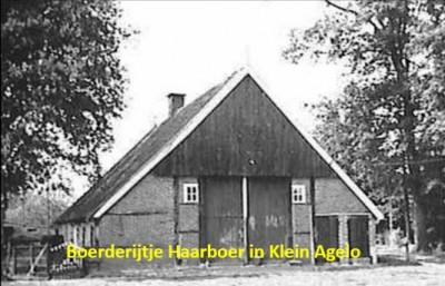 Boerderijtje Haarboer in Klein Agelo