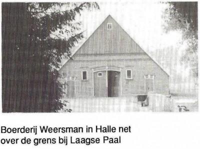 Boerderij Weersman in Halle