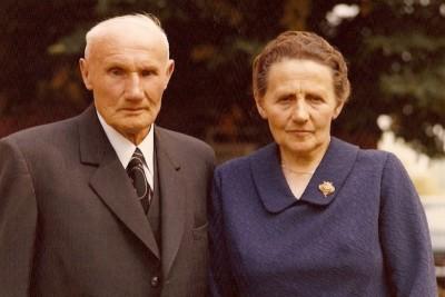 Gerardus Bruggink en Maria Aleida Niehoff (Kaptein) Lattrop 31-08-1972