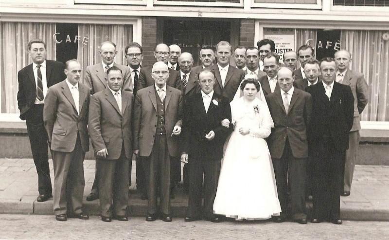 Bruiloft Bernard Muntel en Mientje Rolink Lattrop