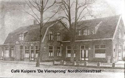 Café 'De Viersprong' Kuipers Nordhornsestraat