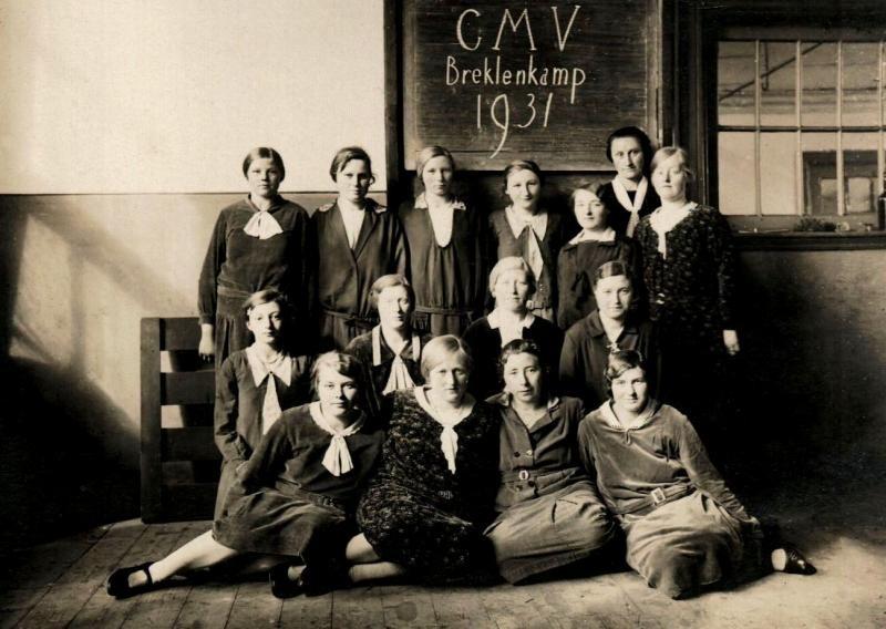 CMV (Christelijke Meisjes Vereniging) Breklenkamp 1931