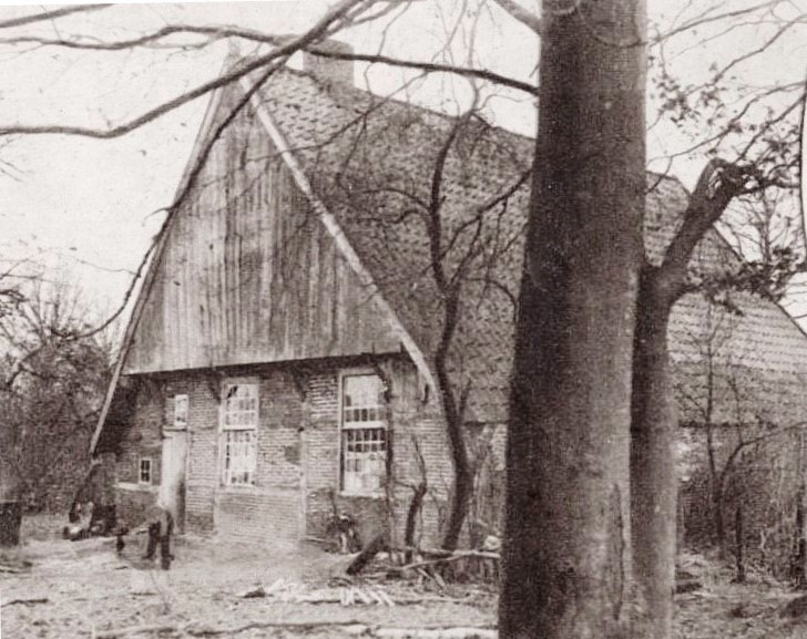 'Denekamp onbekend boerderijtje 1927'