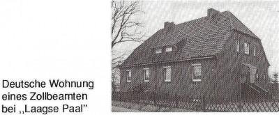 Deutsche Wohnung eines Zollbeamten bei Laagse Paal Lage