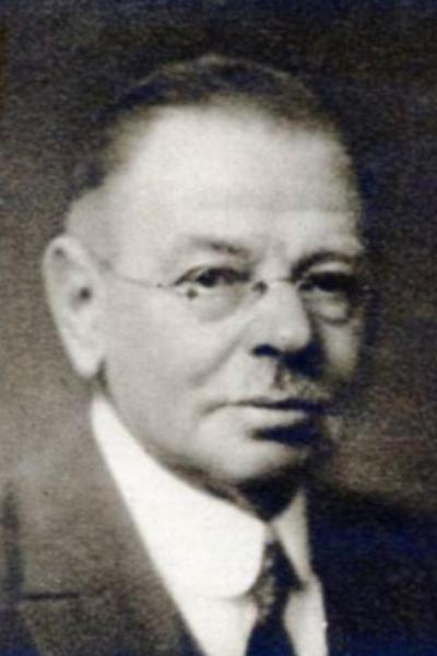Dokter A.J. Hondelink in Denekamp