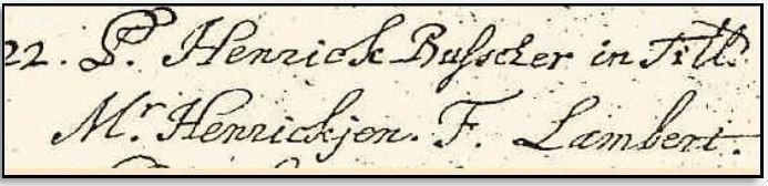 Doopboek Ootmarssum 22-11-1691