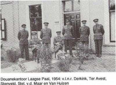 Douanekantoor Laagse Paal 1954