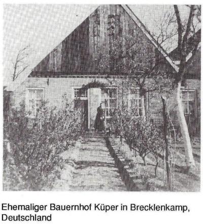 Ehemaliger Bauernhof Küper in Brecklenkamp Deutschland