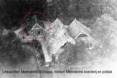 Erf Meenderink, later Stengman, in Groot Agelo met linksachter Meenderinks Schöppe