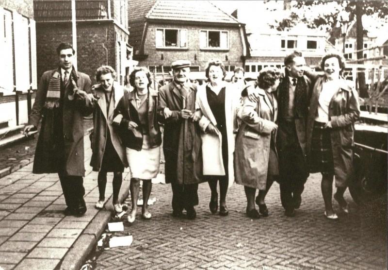 Fam Hampsink Tilligte op de Kolde Karmse 1961