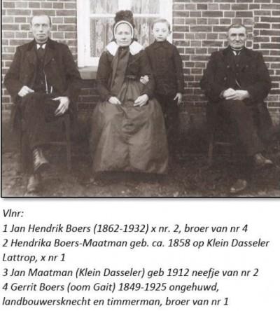 Familie Boers Breklenkamp en Jan Maatman