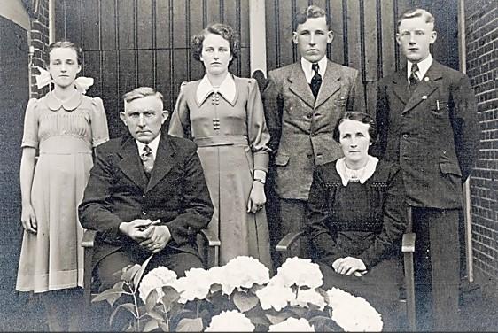 Familie Ruël-Steunebrink (BekHannes) in Lattrop