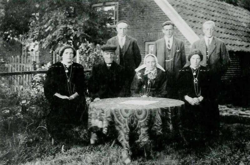 Familie Borggreve-Busscher (Reake) Tilligte 1920