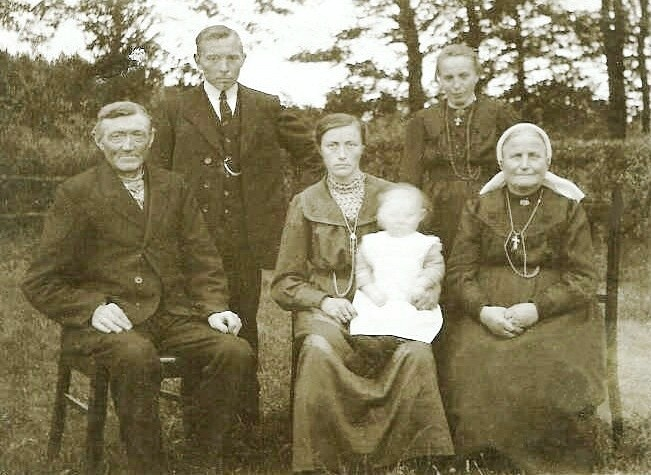 Familie Groeneveld-Leliefeld (Lutke Veldman) Breklenkamp