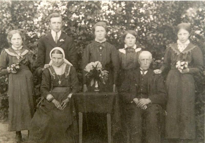 Familie Huisken-Horsthuis (ool-Bossink) Lattrop
