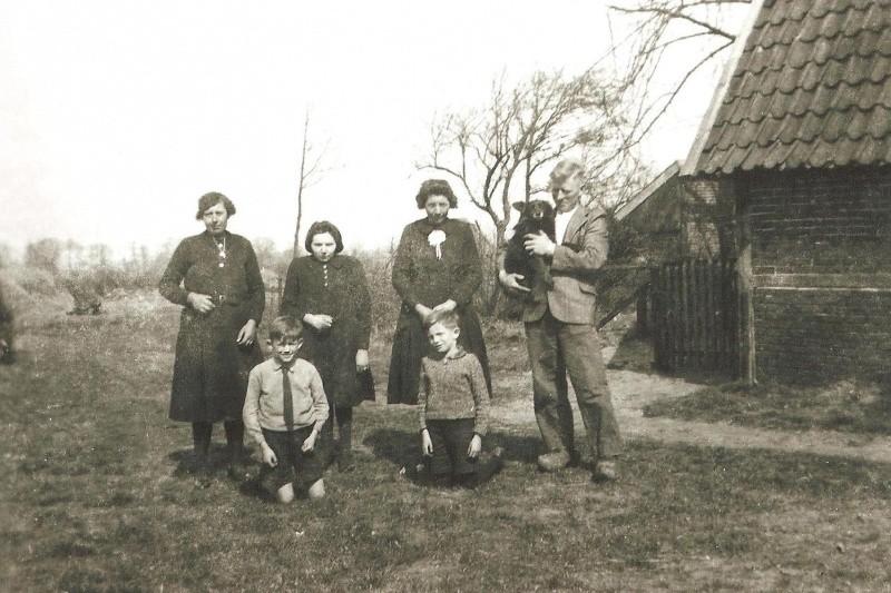Familie Haamberg op Oude Stokke in Lattrop